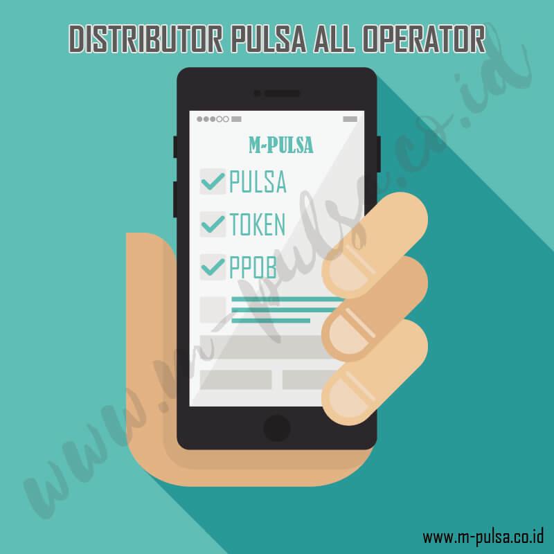 distributor pulsa multi operator